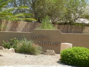Indian-Springs community sign